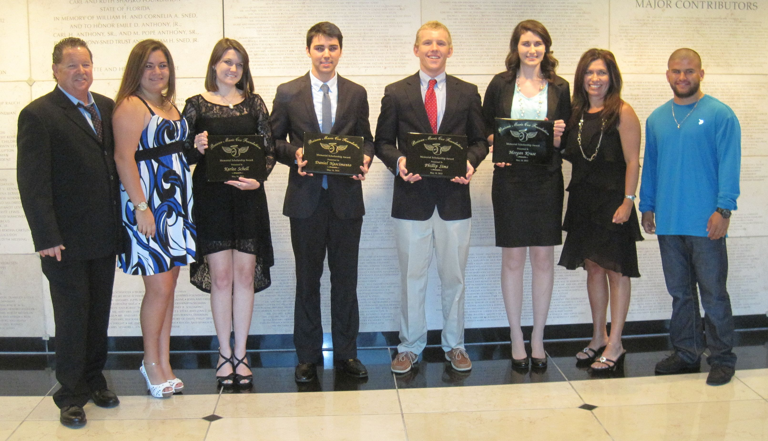 2013 Scholarships Awarded